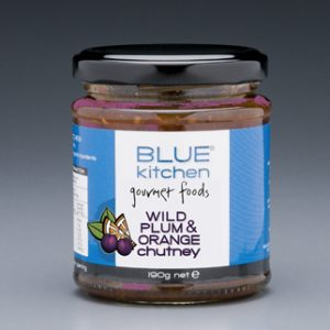wildplum and orange chutney