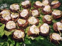Blue Kitchen Catering - Mini Tuna Patties Platter